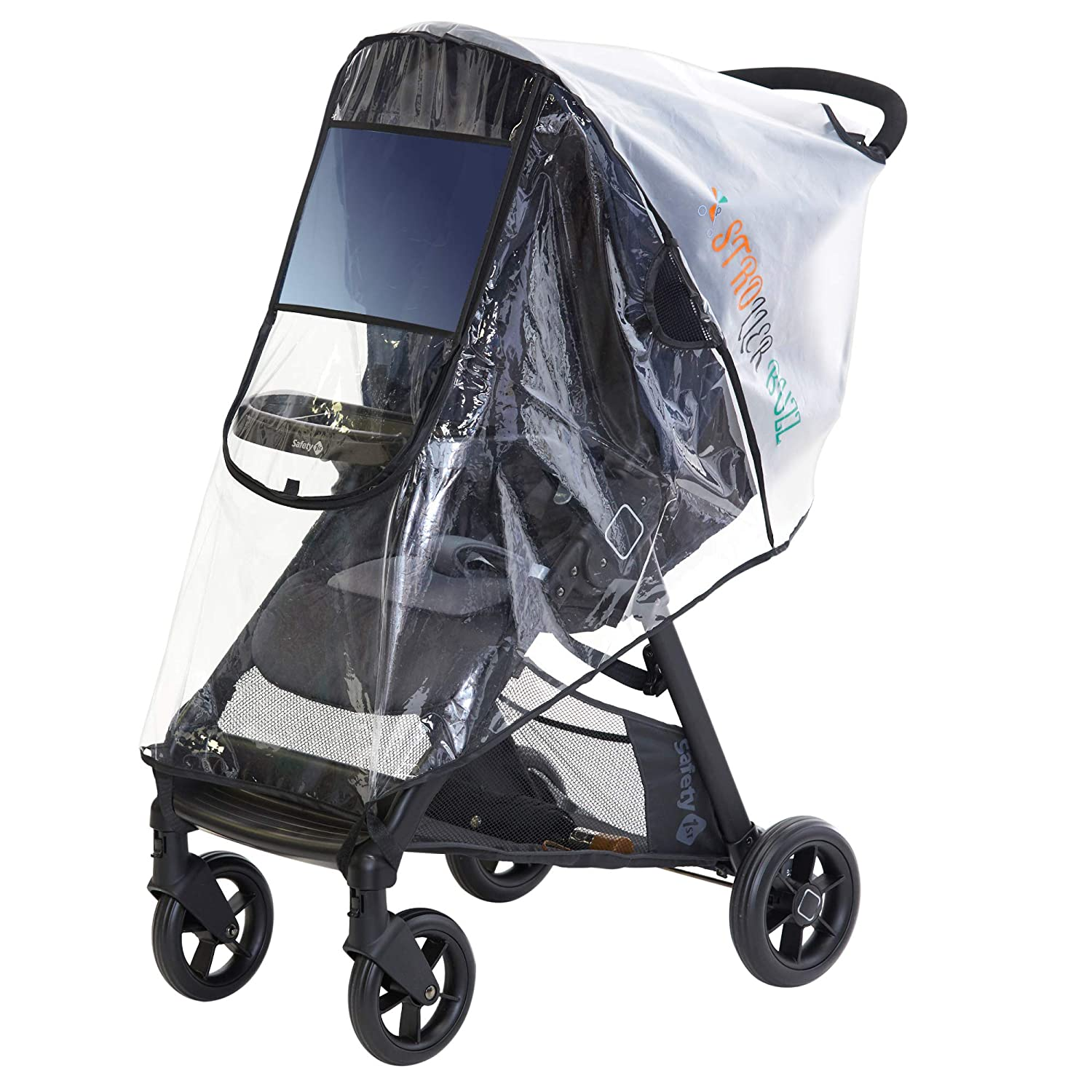 ZOEON Universal Rain Cover for Baby Stroller Weather Shield for Pushchair Stroller Buggy Pram