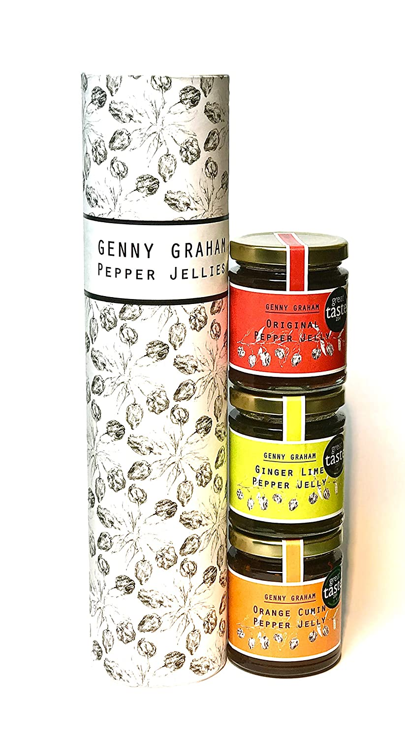 Genny Graham Pepper Jelly Mixed Flavours Gift Pack Amazoncouk