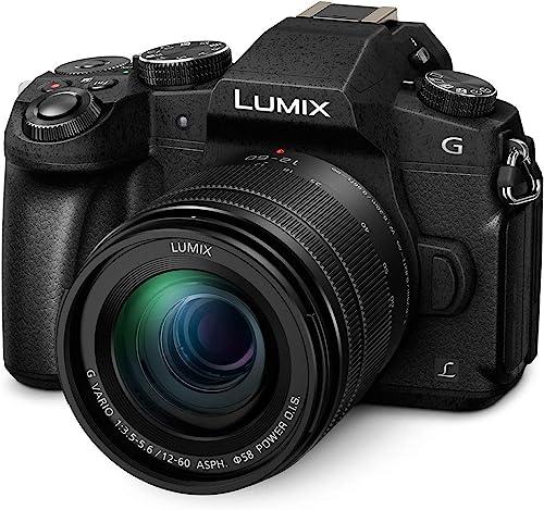Panasonic LUMIX G85 16MP Mirrorless 4K Digital Camera w/12-60mm Power IOS Lens (Black)