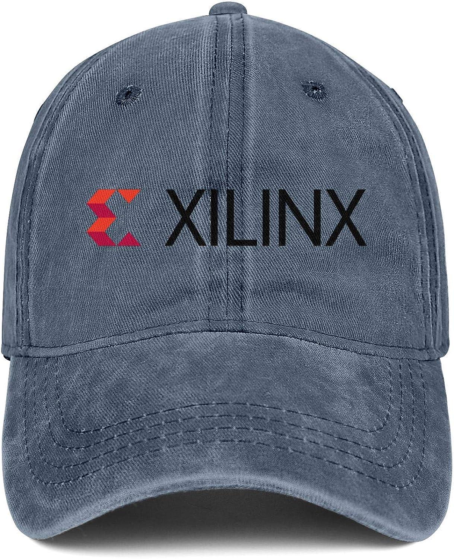 YSPO9O8 Mens Womens Caps Xilinx Logo Hat Snapback Designer Denim Cap Curved Hats