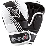 Hayabusa Ikusa Recast 7oz Hybrid Gloves Black/White Large