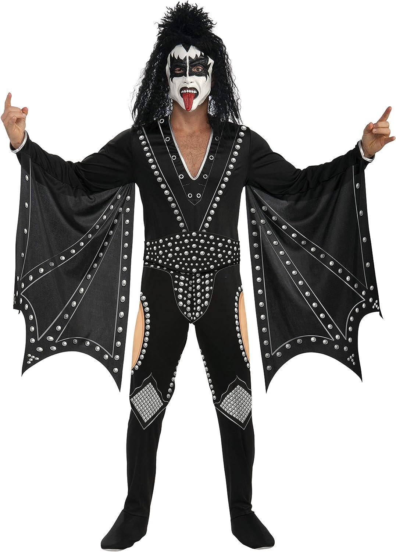 Kiss I-880123L - Disfraz de rockero para hombre (adulto) (talla L ...