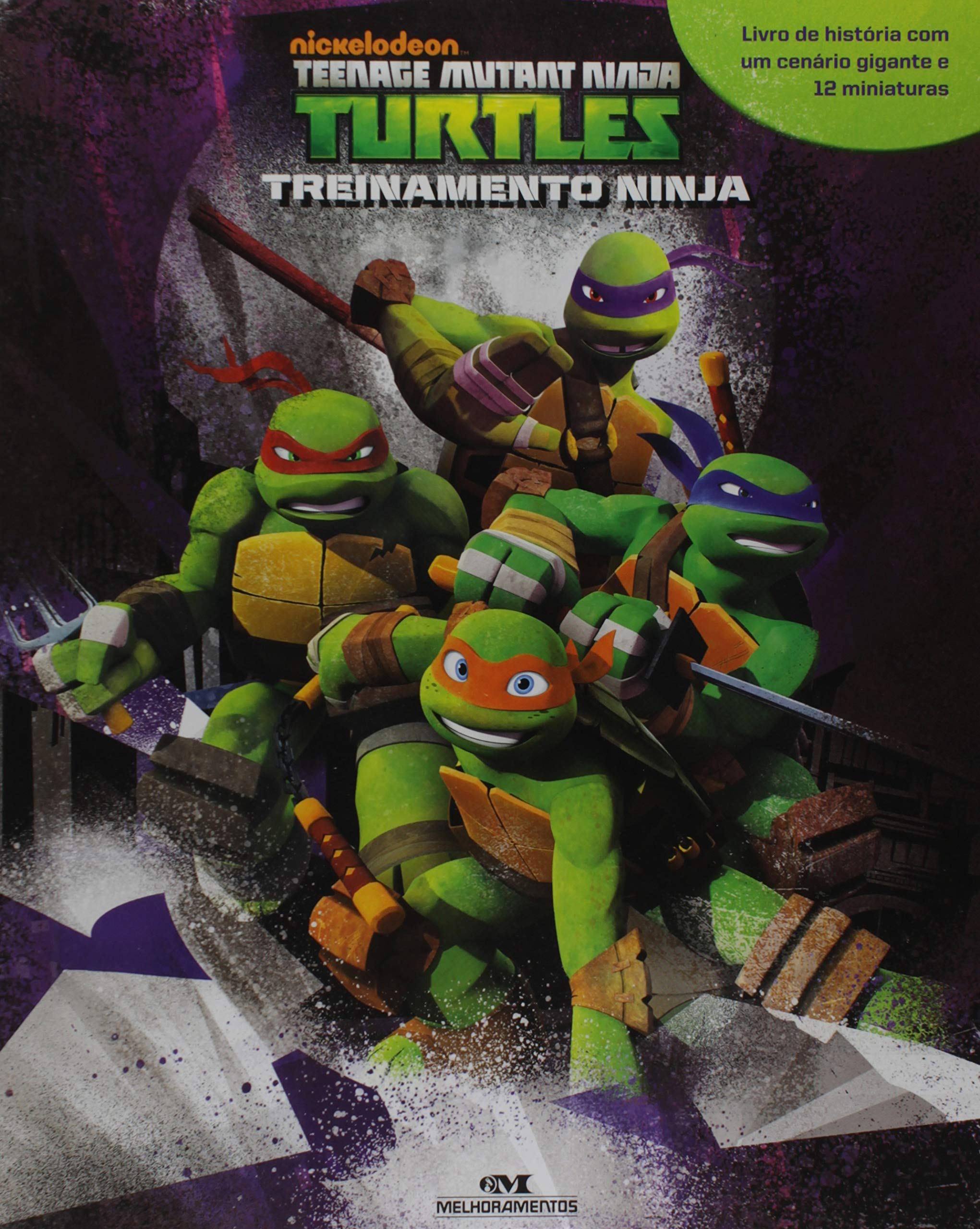 Tartarugas Mutantes Ninja. Treinamento Ninja Em Portuguese ...