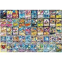 100Pcs Card Set Cartoon Compatibel Voor Pokemon Art Card Set, Speelkaart Kinderen Trading Cards Met 100 (78Ex + 21Gx + 1…
