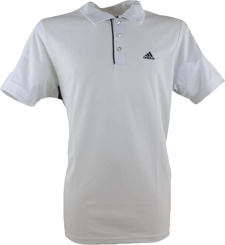 adidas Polo Camiseta/Camiseta Galaxy Polo Blanco XX-Large: Amazon ...