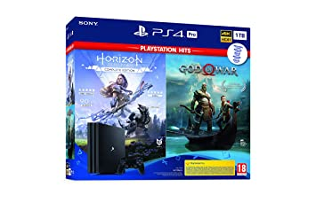 Sony PlayStation 4 - PS4 Pro 1TB + GOW + Horizon: Sony: Amazon.es ...