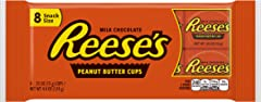 REESE'S, Peanut Butter Cups Snack Size, 4.4 oz