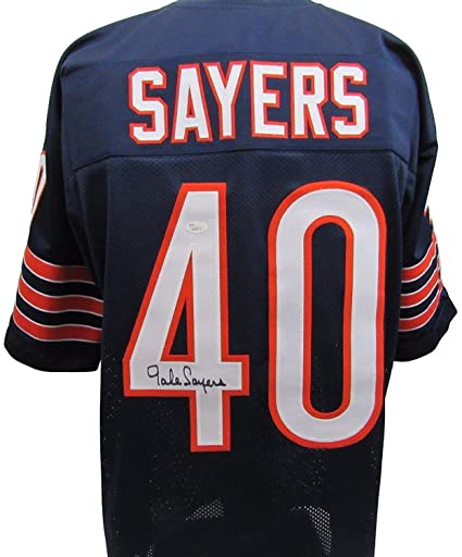 77be1e9aa Image Unavailable. Image not available for. Color: Gale Sayers Signed Jersey  - Autographed ...