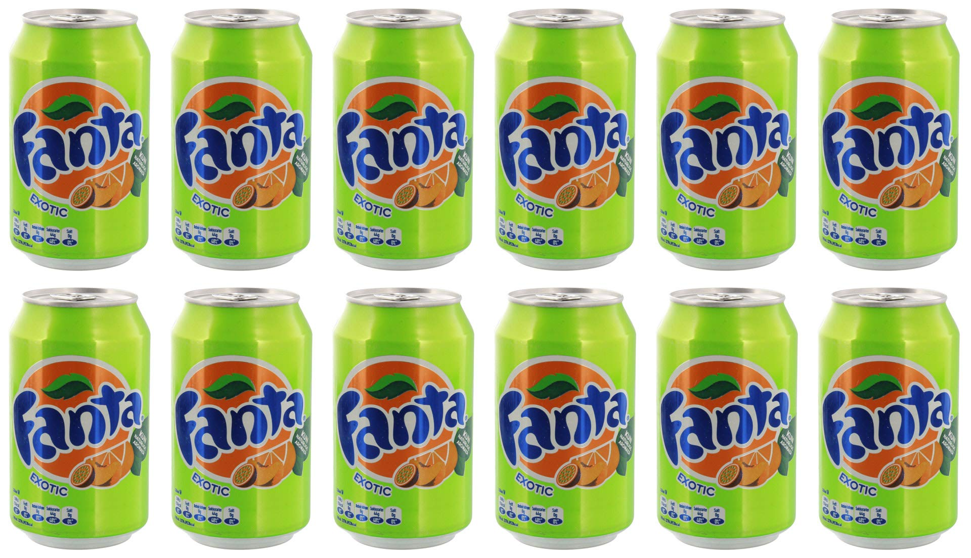 Fanta Exotic 330ml - 12 Pack