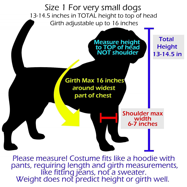 Amazon Pandaloon Panda Puppy Dog Pet Costume Size 1 13 145