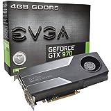 EVGA GTX 970 4GB GDDR5 256bit, DVI-I, DVI-D, HDMI, DP SLI Ready Graphics Card (04G-P4-1970-KR) (Renewed)
