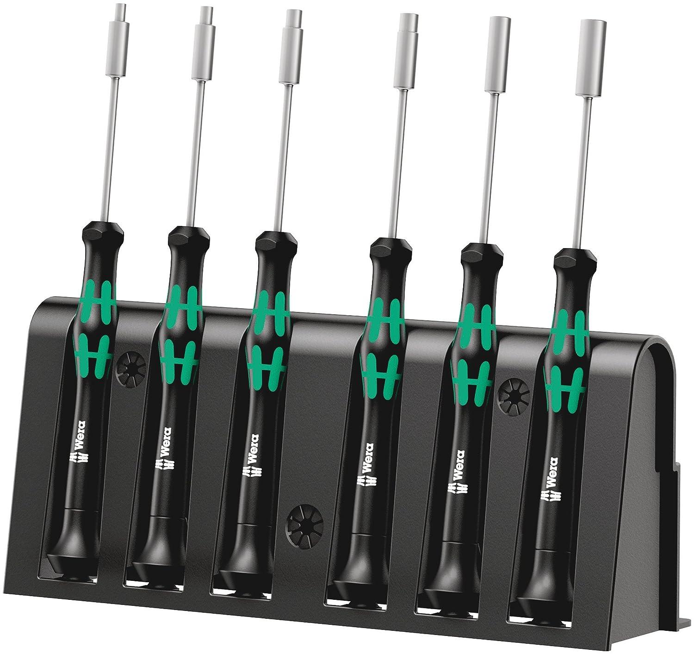 Wera Kraftform MIcro 2069/6 Precision Nutdriver Set, 6-Piece Wera Tools 05118158001