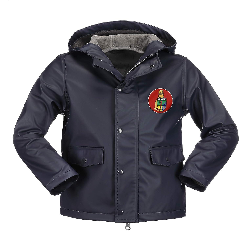 Duftbleu Mit Separatem Logopatch In rouge 110 116 cm Friesennerz - Manteau imperméable - Fille Jaune Jaune