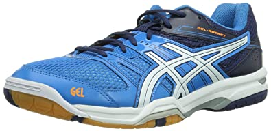 asics gel rocket 7 bleu