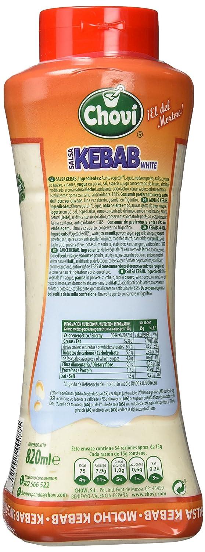 Salsa Kebab White Chovi Botella 820 Ml: Amazon.es: Alimentación y bebidas