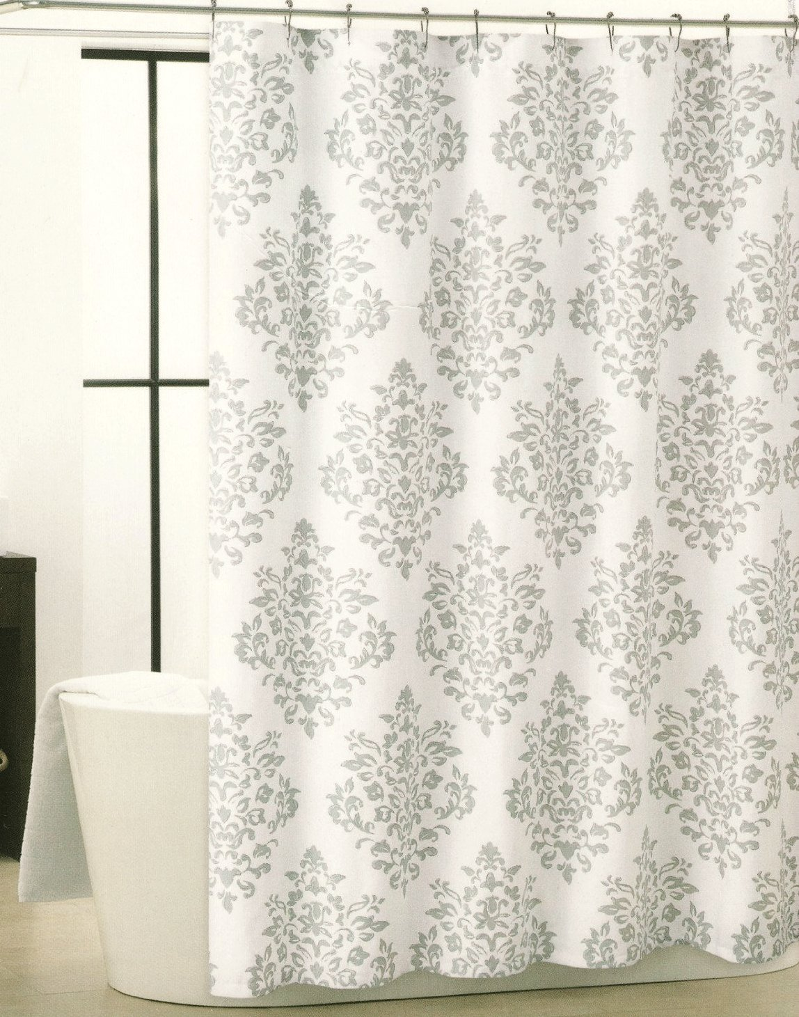 curtains home curtain gray teal shower at
