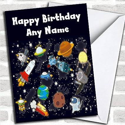 Tarjeta de cumpleaños para niños con sobre, diseño de rocas ...