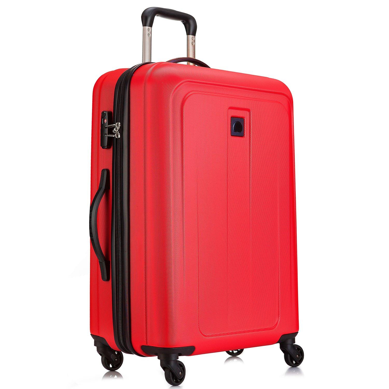 [デルセー] Delsey スーツケース EPINETTE 機内持込 カジュアル 耐久性 静音キャスター 2年保証付 【決算処分 最大40%OFF】  レッド-70L B01J5EDJHM