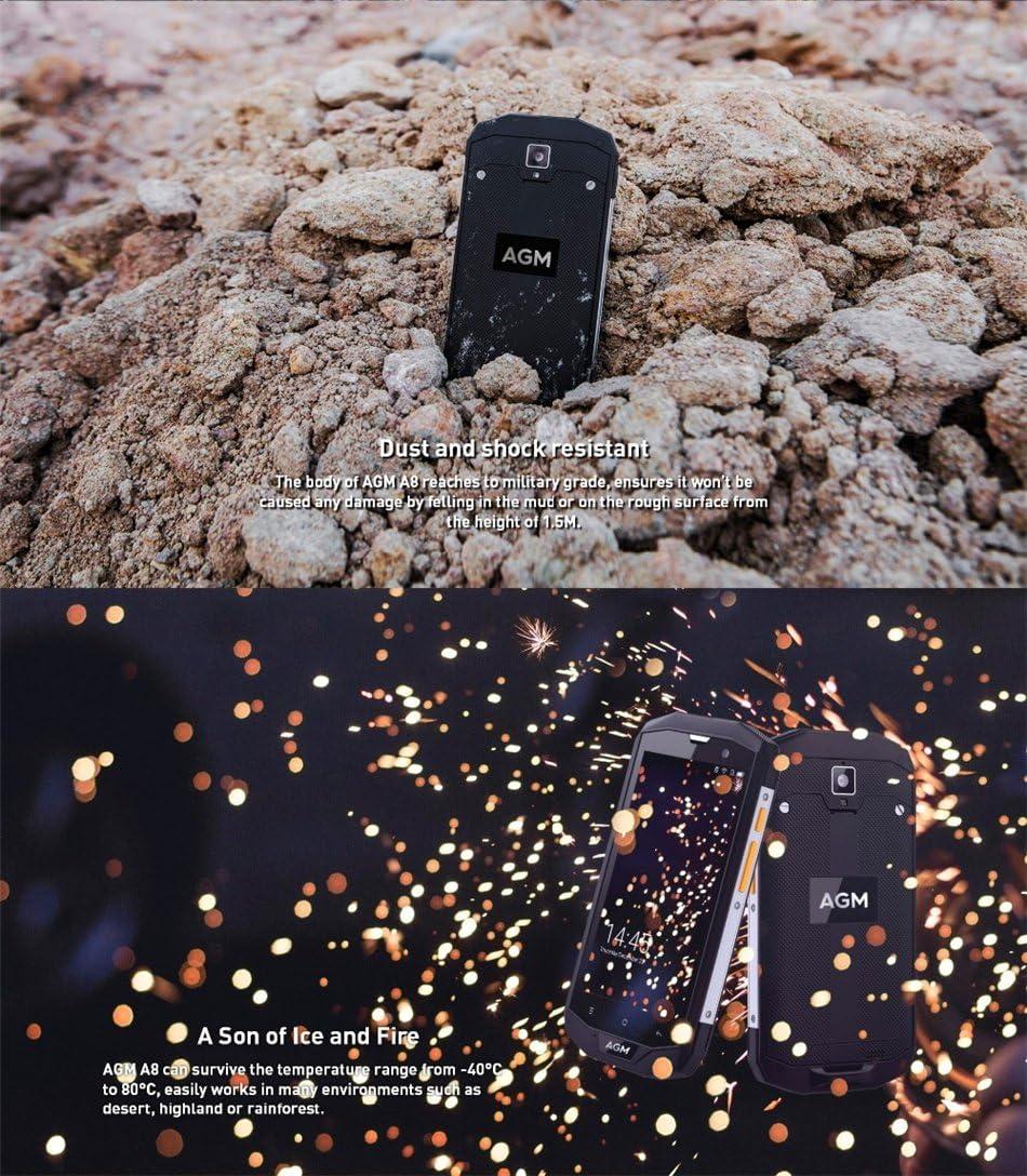 AGM A8 IP68 - Teléfono móvil impermeable (5,0