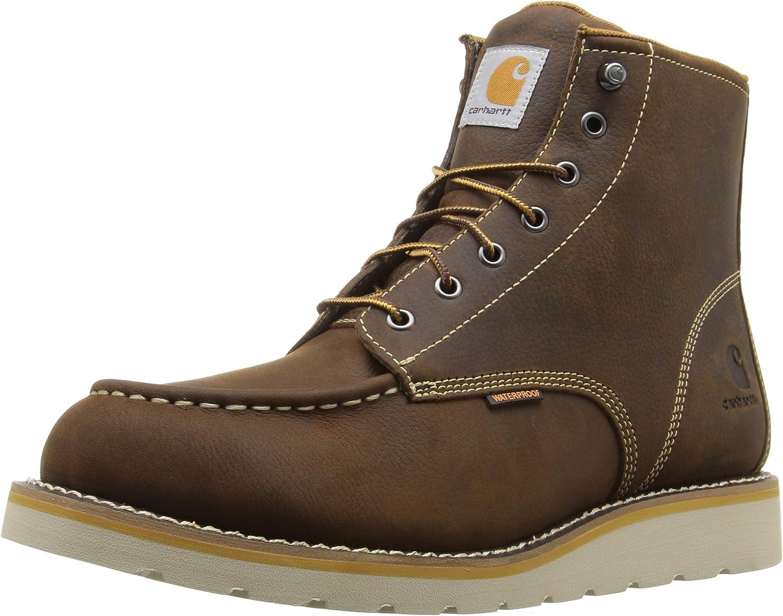 "Carhartt Men's Cmw6095 6"" Casual Wedge Work Boot: Shoes"