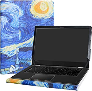 "Alapmk Protective Case Cover for 14"" Lenovo Flex 4 1435 1470 1480 Laptop(Warning:Not fit Flex 4 15.6 & 11.6/Flex 5/Flex 6/Flex 3/Flex 2 Series),Starry Night"