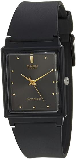 1fd79cfdc7e Amazon.com  Casio Men s MQ38-1A Black Resin Analog Quartz Watch with ...