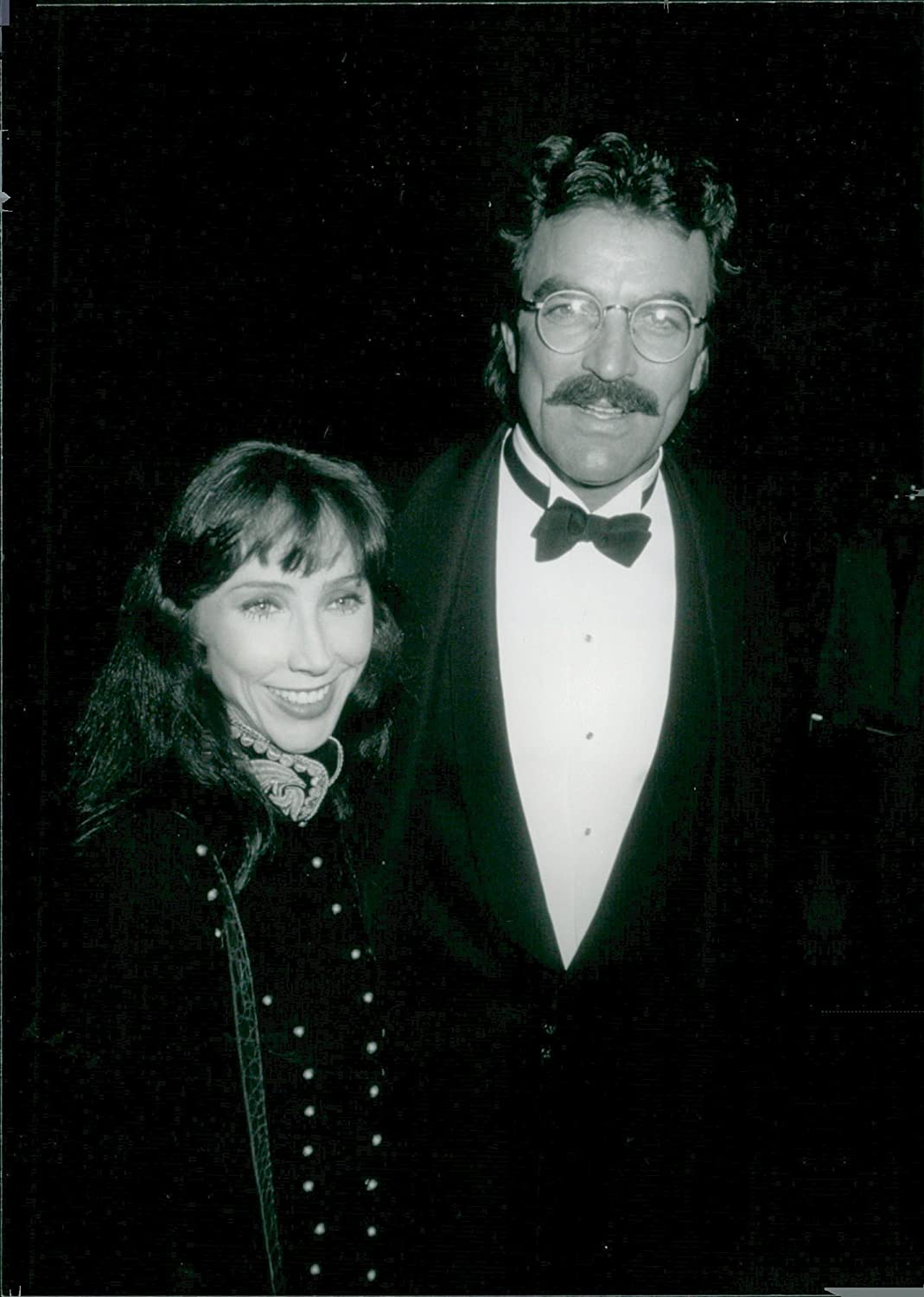 What Size Shoe Does Tom Selleck Wear.Vintage Photo Of Tom Selleck Along With Wife Jillie Mack