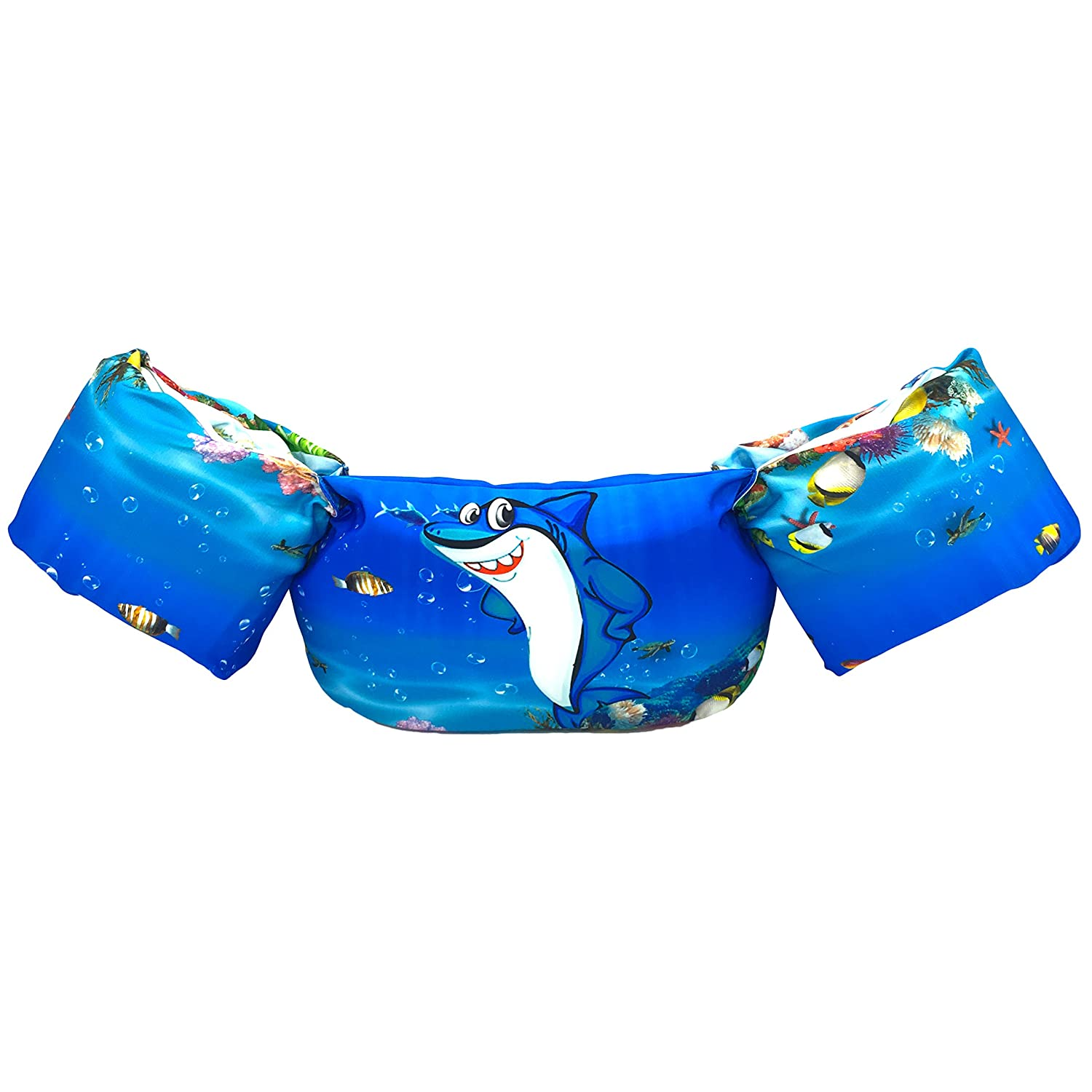 Silfrae Swim Vests Swim Floatation Vest Learn-to-Swim Device Weighing from 30 to 50 lbs (FloatationVestPink Horse)