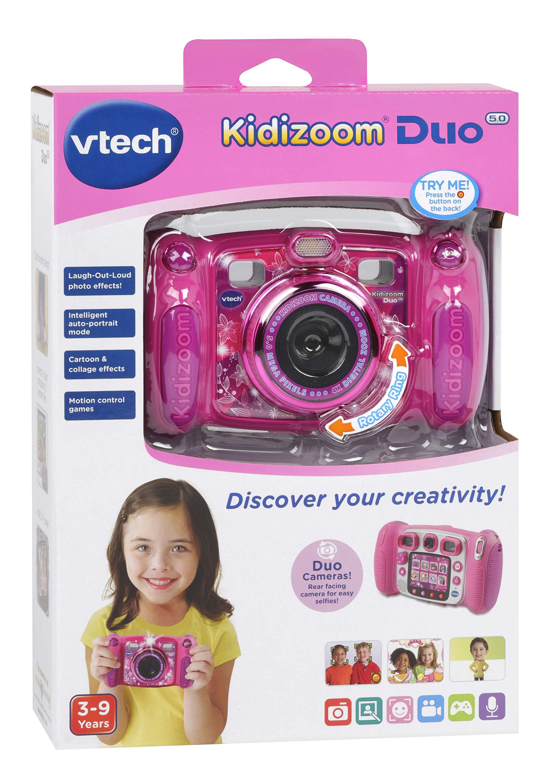 VTech Kidizoom Duo 5.0 Camera Pink by VTech (Image #5)
