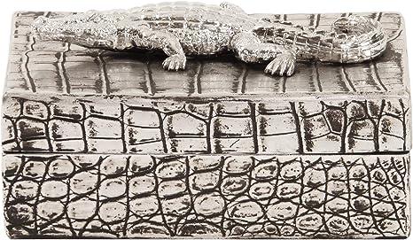 Faux Crocodile Reptile Skin decorative Box