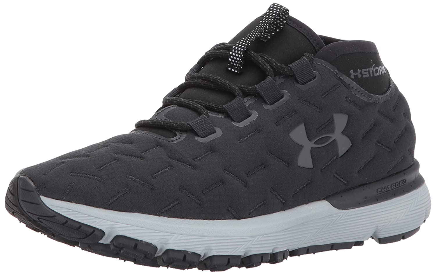 Under Armour Women's Charged Reactor Running Shoe B01MXWJMVQ 8 M US|Anthracite (100)/Overcast Gray