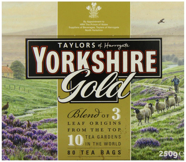 Amazon.com : Taylors of Harrogate Yorkshire Gold, 80 Teabags ...