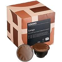 Marchio Amazon- Solimo Capsule Lungo, compatibili Dolce Gusto- caffè certificato UTZ- 96 capsule (6 x 16)