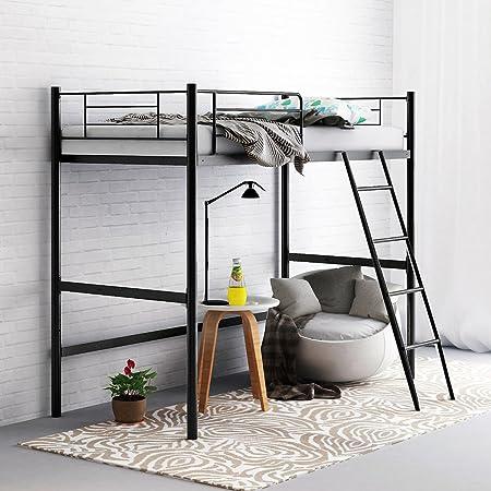 Camabeds Stooreys Single Loft Bed (Black)