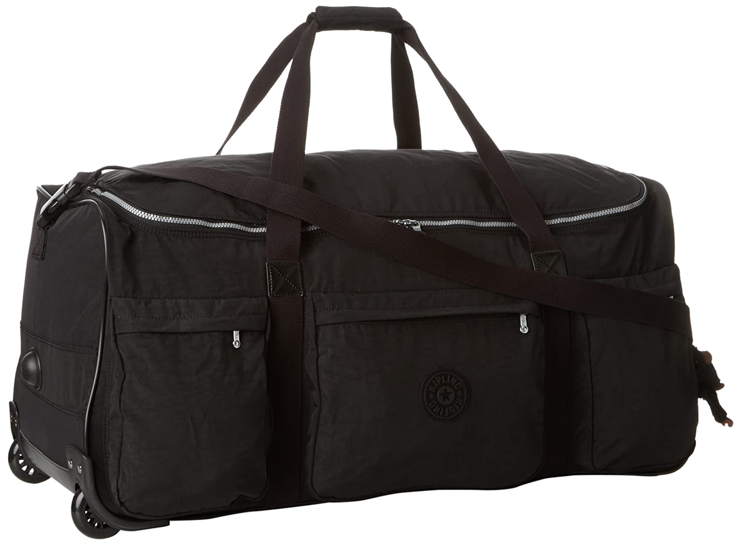 6ddc1b0fd6e3 Amazon.com  Kipling Discover Solid Large Wheeled Luggage Black  Shoes