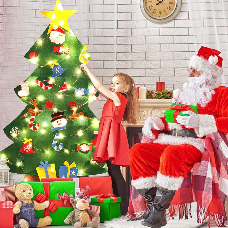 Hanging Christmas Decorations To Make.B Bangcool Diy Felt Christmas Tree 26pcs Xmas Ornaments 3 2