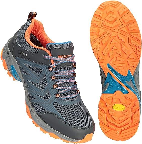 Mountain Warehouse Saturn Extreme Zapatillas Impermeables Hombre - Ligeras, Resistentes, Parte Superior de Nailon Ripstop - para Caminar, excursión, Acampar, Aire Libre: Amazon.es: Zapatos y complementos
