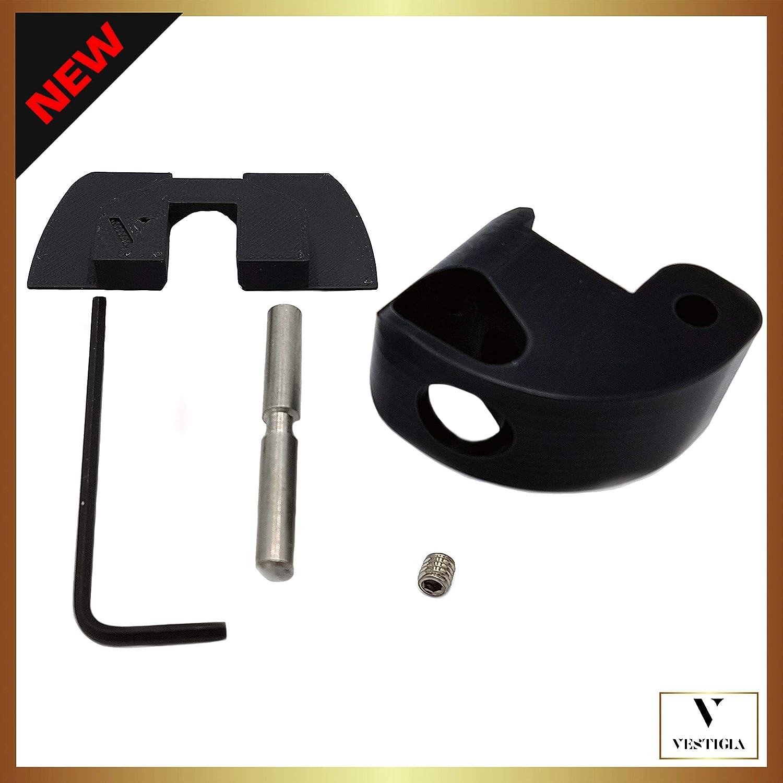 Vestigia/® Lock Latch Renforc/é Potence de Guidon Xiaomi M365 Accessoires de Trottinette /électrique Kit Lock+Goupille+Vis+Cl/é Allen+Amortisseur Serrure Securite Joint