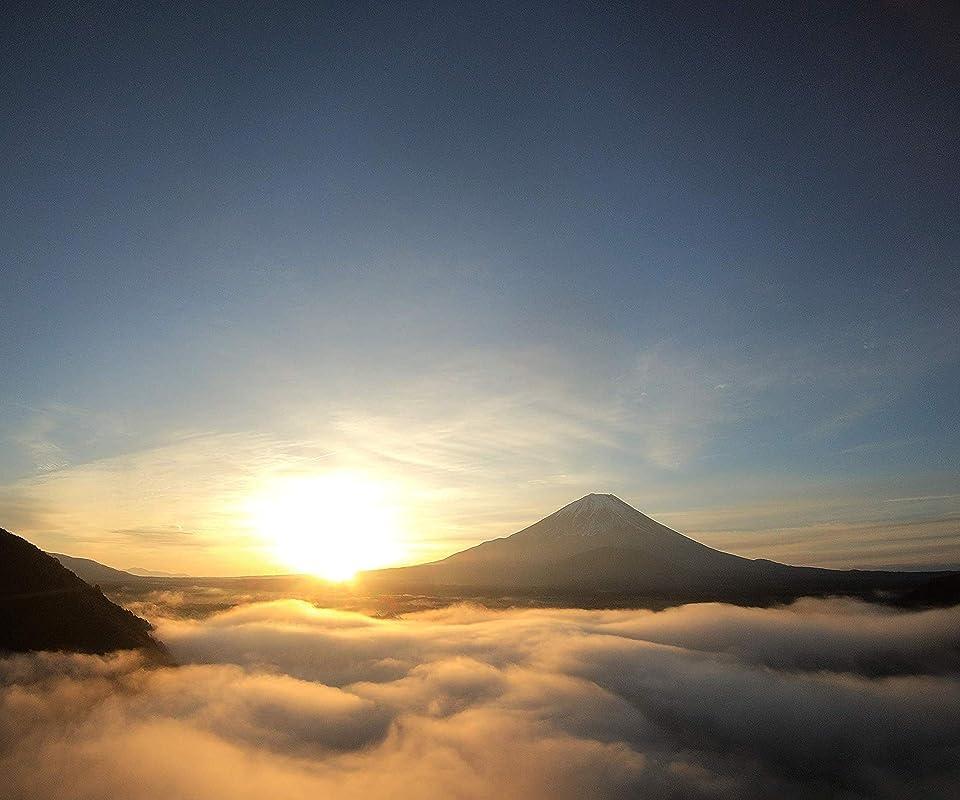 富士山 富士五湖 富士山 Android(960×800)待ち受け画像