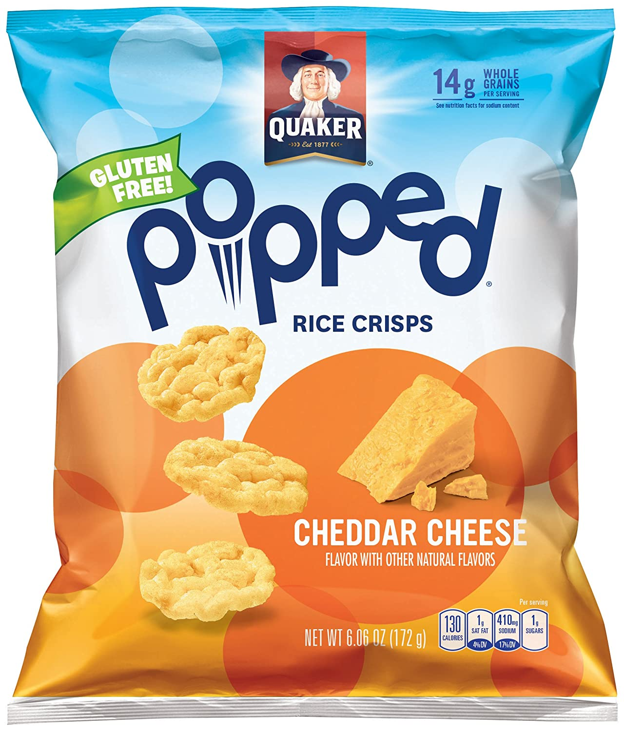Cheddar Cheese Rice Cakes Nutritional Information