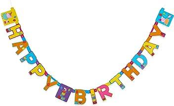 American Greetings Girls Peppa Pig Birthday Party Banner