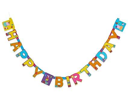 Amazon american greetings girls peppa pig birthday party banner american greetings girls peppa pig birthday party banner m4hsunfo