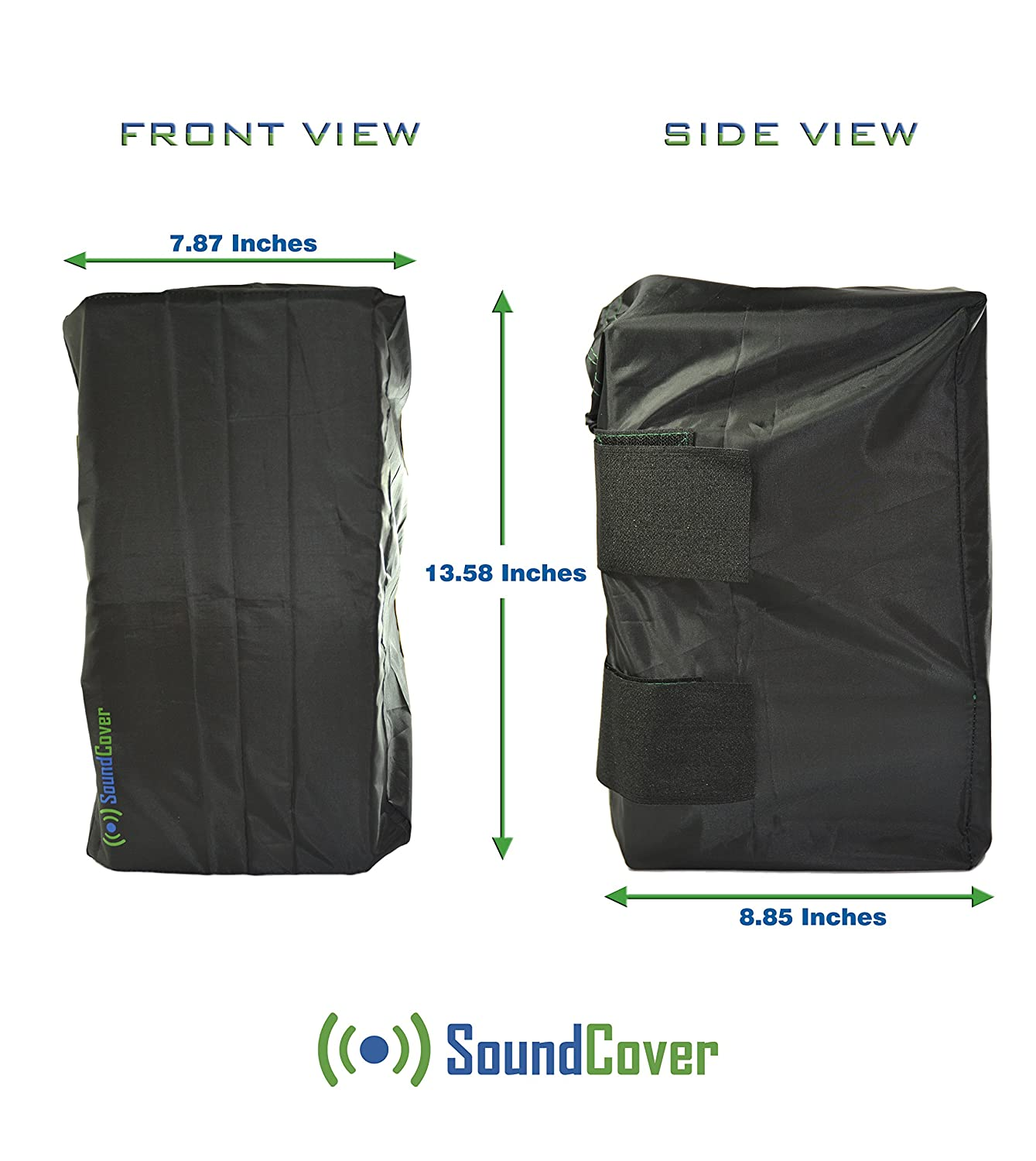 Sun / Dust / Water Protection for Outdoor Speakers - Two Covers for Yamaha AW294, Definitive Technology AW 5500, Polk Audio Atrium 6, Sound Appeal Bluetooth 6.5 & Bose 251 by Sound Cover (Two Covers) SC36