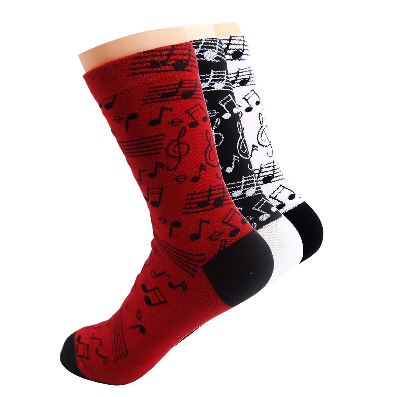 MissShorthair Womens Pack Novelty Cotton Casual Socks Fashion Combed Cotton Socks Flamingo Socks Cactus Socks 2018Csocks-10