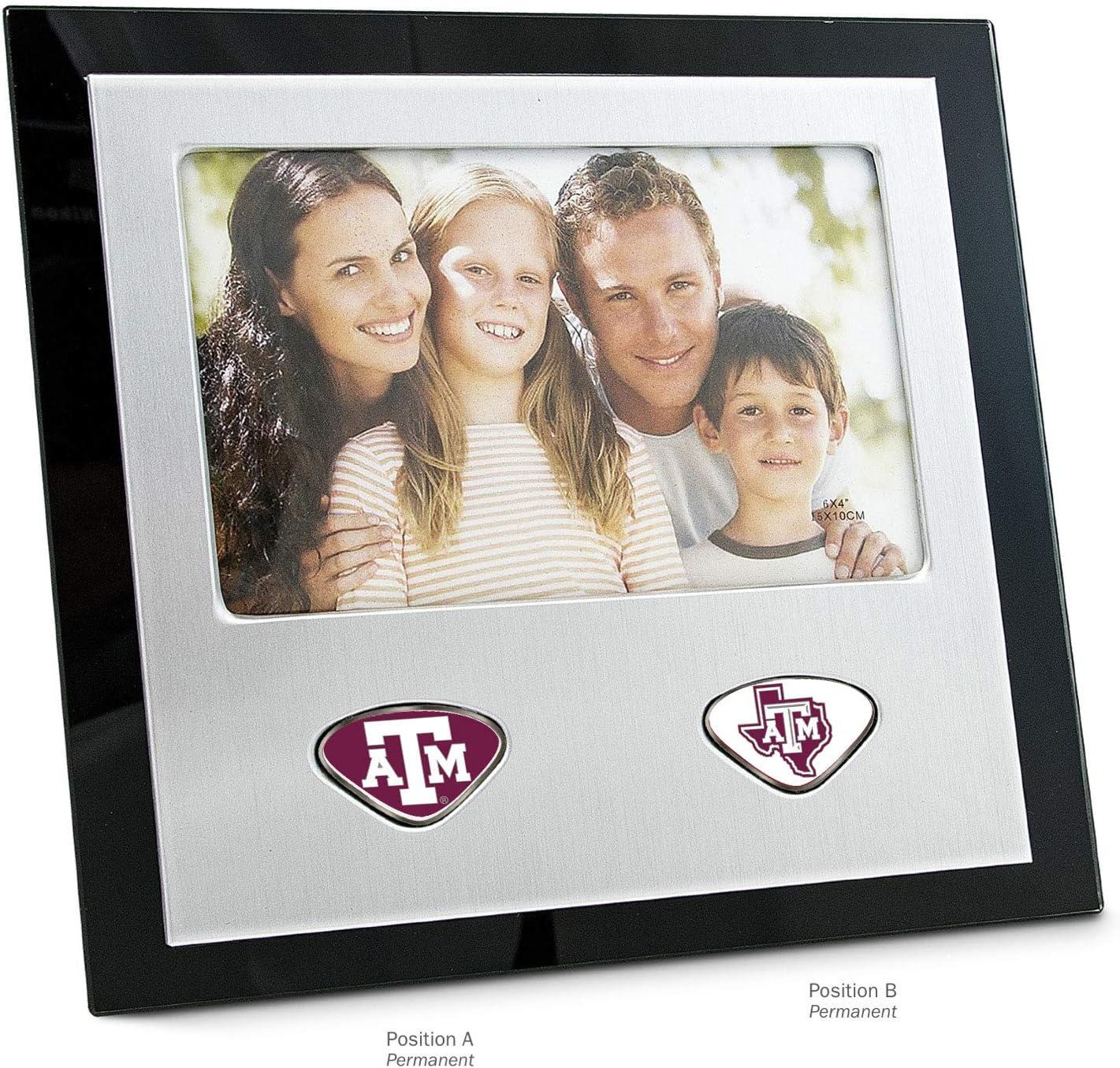 One Size NCAA Texas A/&M Aggies Collegiate Photo FrameCollegiate Photo Frame Silver