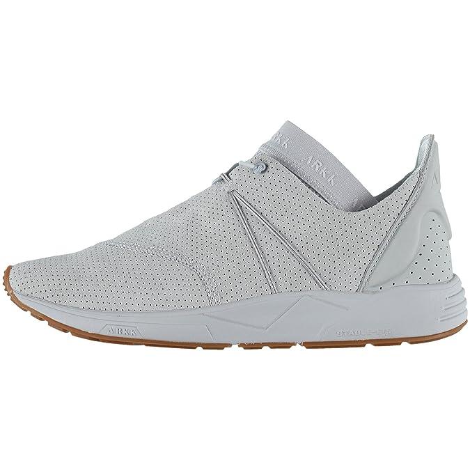 ARKK Copenhagen Herren Eaglezero Suede Sneaker Light Grey Gum