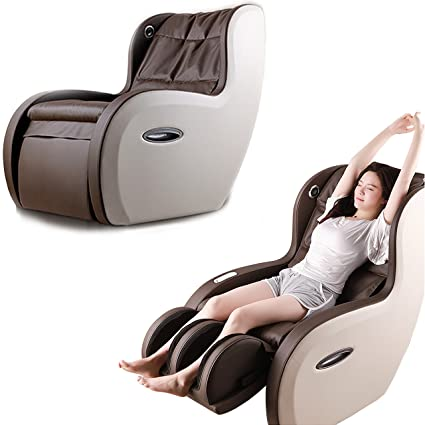 2 In 1 Shiatsu Roller PU Leather Full Body Massage Recliner Chair - Back - Lumbar - Feet With USB Charger - Bluetooth Compatible Built In Wireless Speaker & Comfortable Sofa