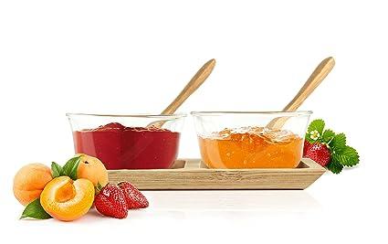 Dip Juego de cuencos para salsas mermelada Ketchup Heinz DIP – Bol dispensador de salsa con