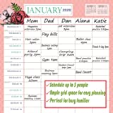 """Goldistock 2020 Large Wall Calendar -Mom's Family Planner - 12"""" x 24"""" (Open) - Thick & Sturdy Paper - - Eliminates Busy Family Scheduling Conflicts"""