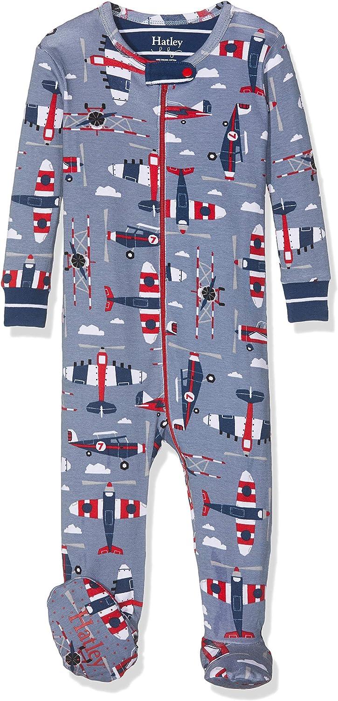 Hatley Baby Boys Organic Cotton Footed Sleepsuit